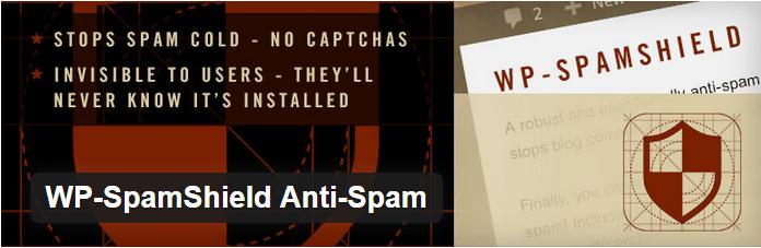 WordPress Spam Shield Plugin