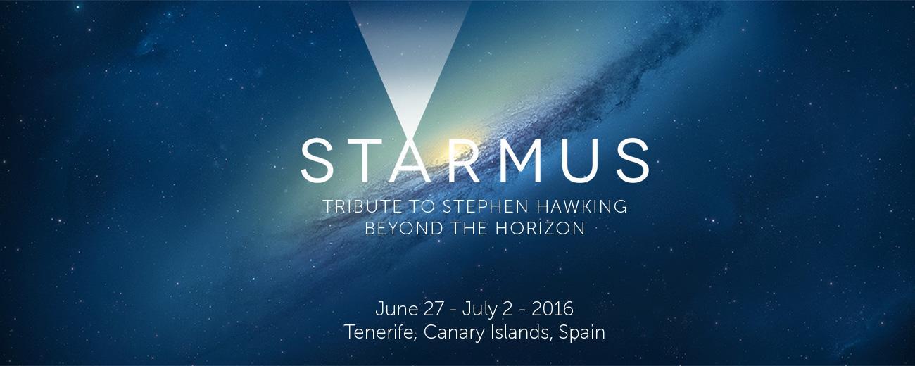 """Hawking a Tenerife per il festival """"Starmus"""""""
