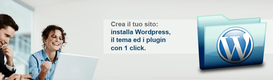 Creare un sito (ed account posta) installando facilmente WordPress su Plesk