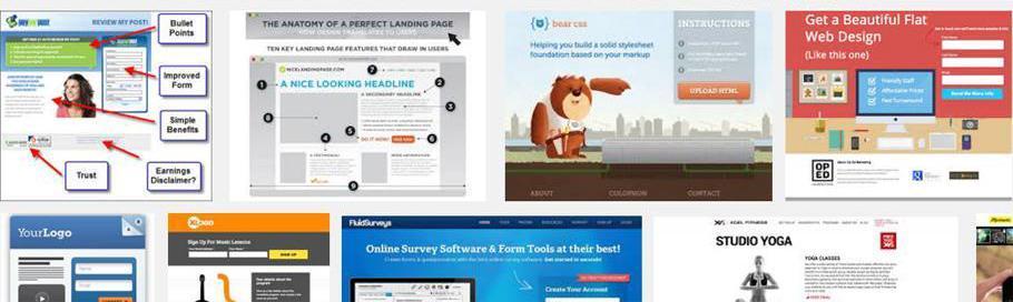 Come e perchè creare una Landing Page – con esempi pratici