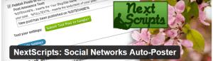 NextScripts per pubblicare i vostri post su tutti i social (Plugin WordPress)