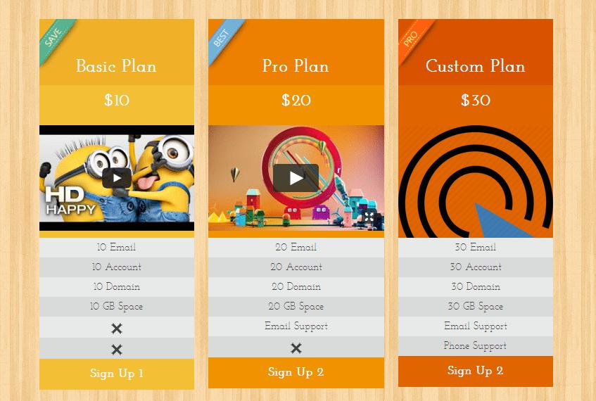 Plugin WordPress per creare tabelle di prezzi o preventivi