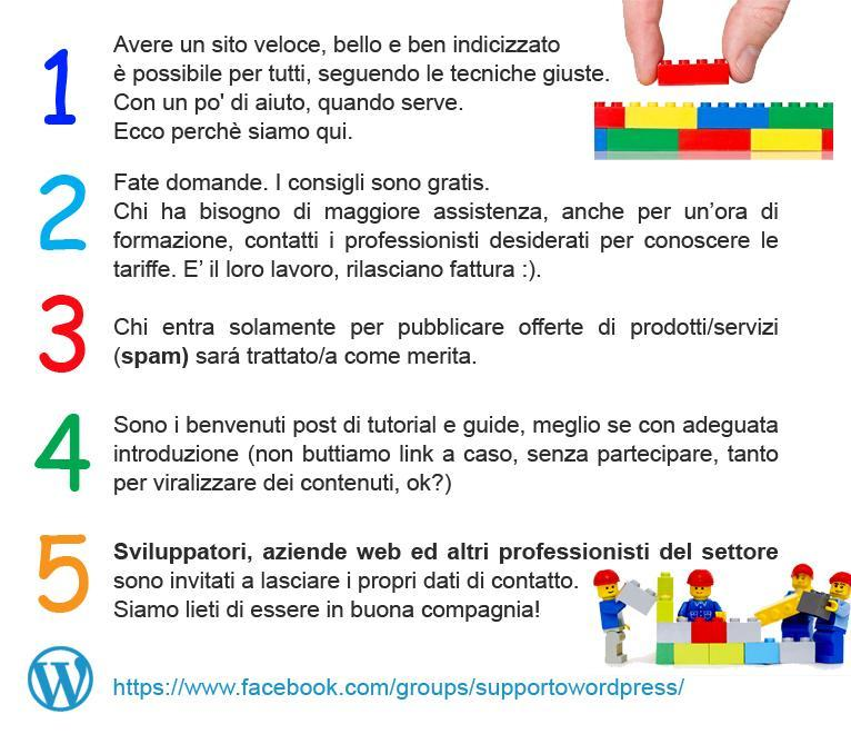Gruppo Assistenza WordPress