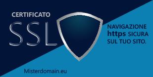 Certificato SSL misterdomain.eu