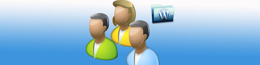 Come creare aree riservate in un sito WordPress