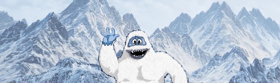 Il miglior hosting SEO e l'uomo delle nevi.