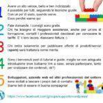 Manifesto del Gruppo Supporto WordPress su Facebook - Misterdomain