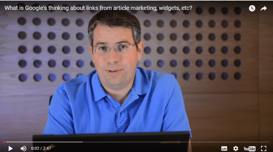 Link non naturali nei widget: avviso severissimo di Google, oggi, ai webmaster.